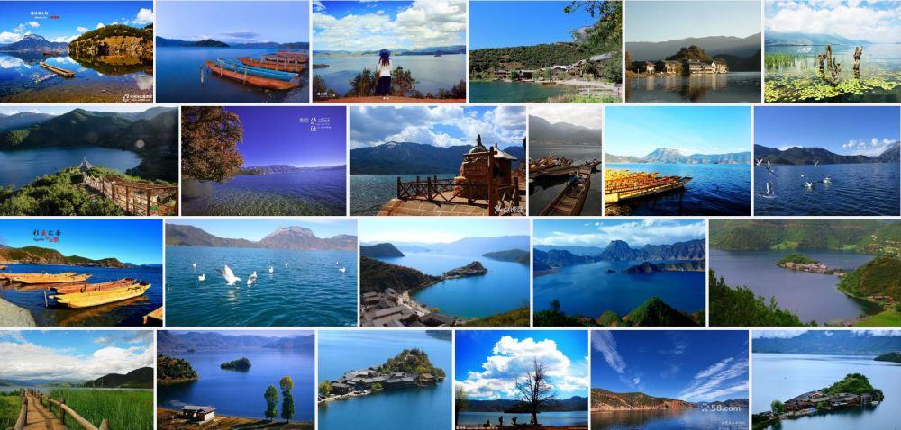 云南丽江泸沽湖,云南丽江泸沽湖图片,神秘的女儿国
