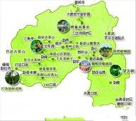 云南西双版纳旅游地图高清版大图|昆明西双版纳