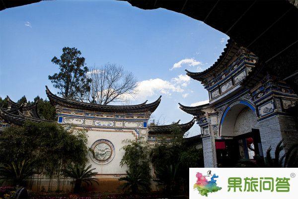 喜洲民居——云南大理旅游攻略康辉旅行社