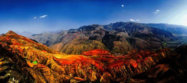 <b>昆明、抚仙湖、弥勒、东川红土地包车摄影旅游5天游</b>