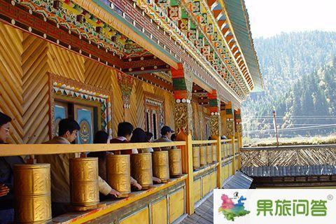 香格里拉寺庙